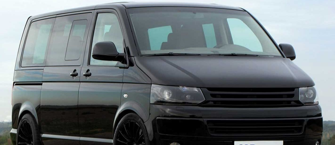 VW Multivan with Porsche 911 Turbo engine up for sale