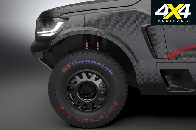 Ford Ranger Rally Raid Ute Wheel Jpg