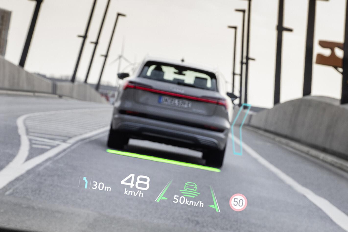 audi q4 e-tron augmented reality