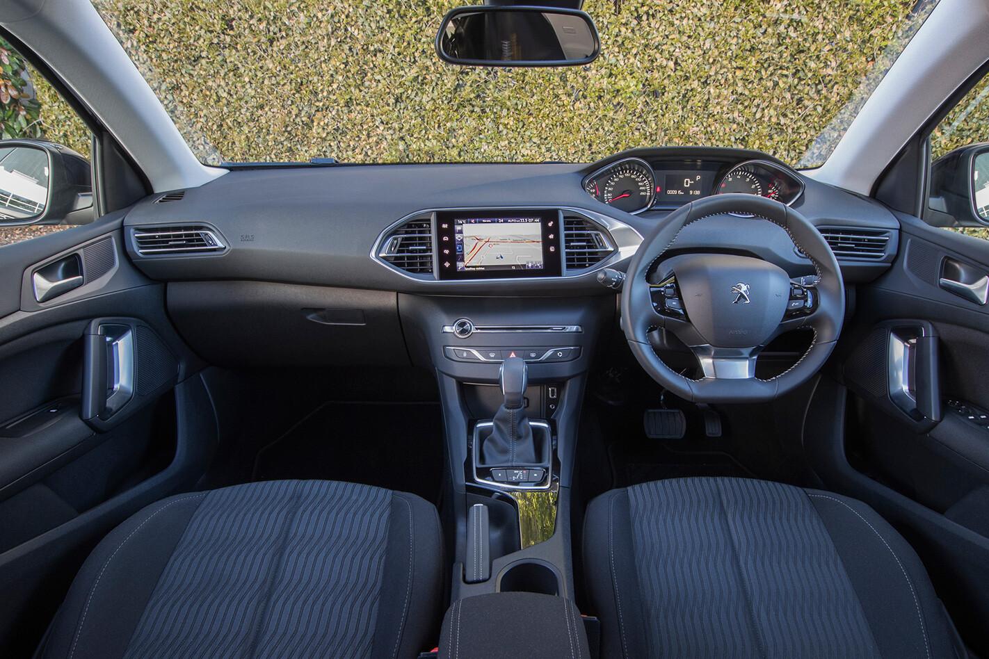 Peugeot 308 Allure Interior Jpg