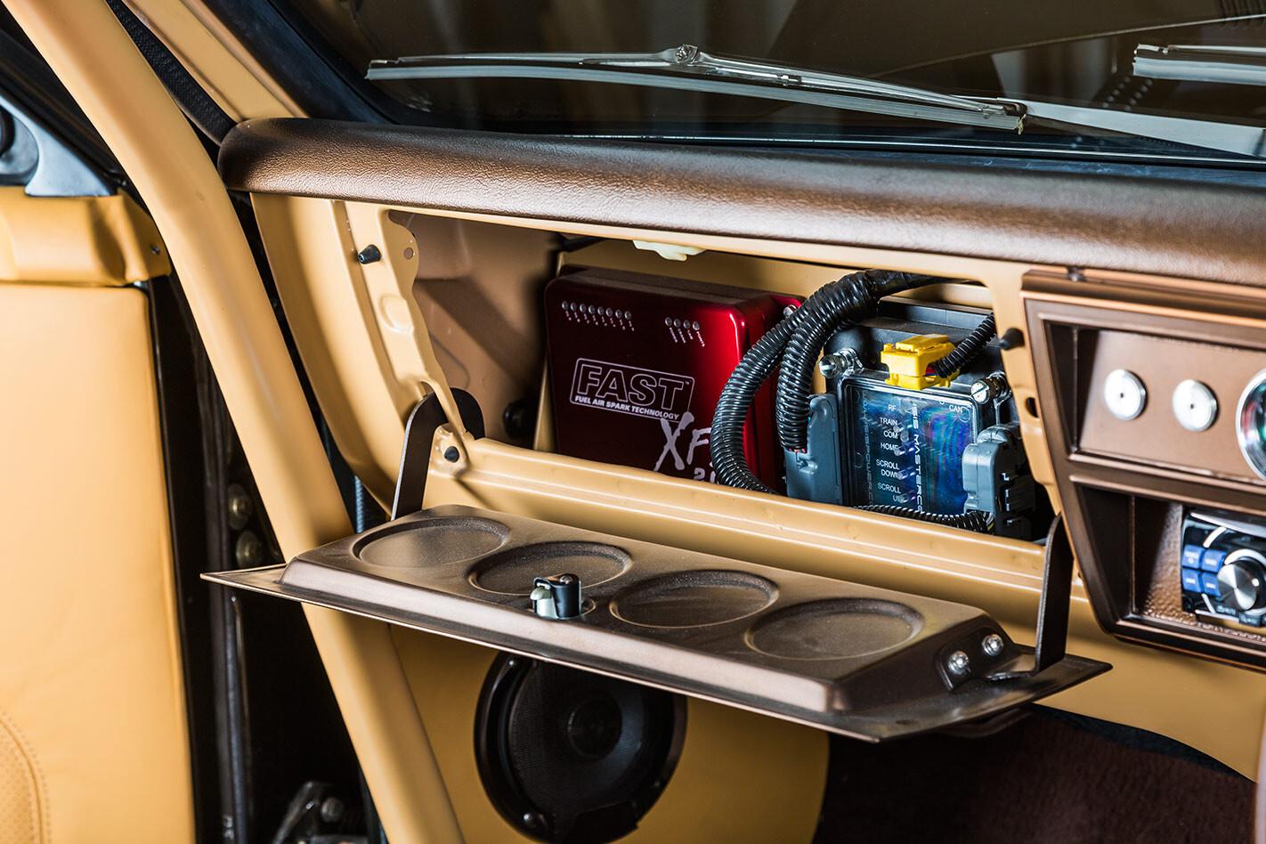Holden HK Monaro glovebox
