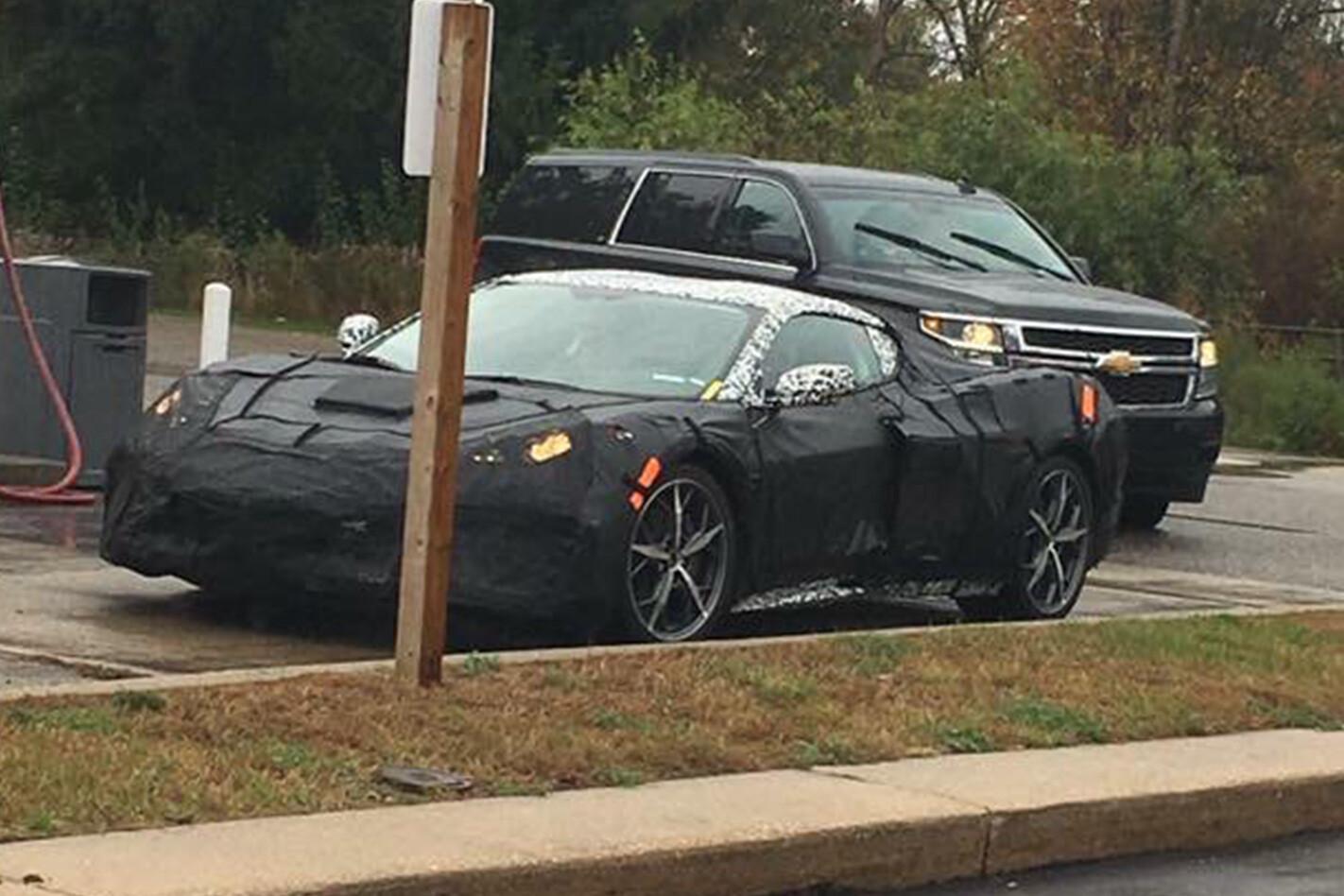 2018 Chevrolet Corvette spied