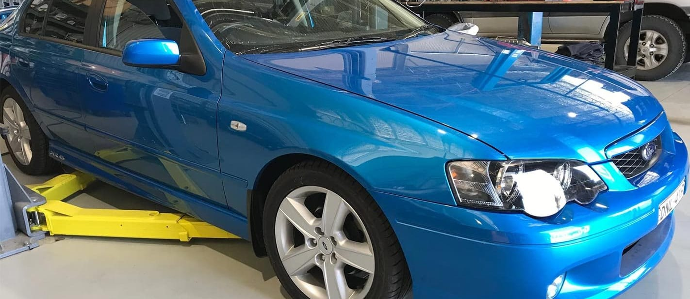 Near-new Ford Falcon XR6 Turbo for sale