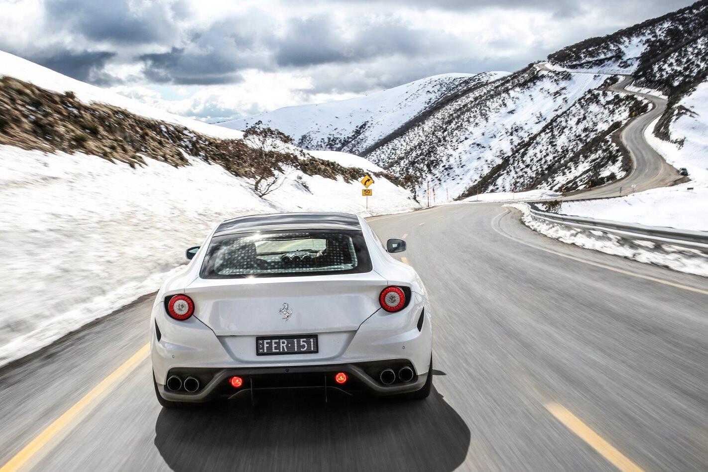 Ferrari FF Alpine road trip
