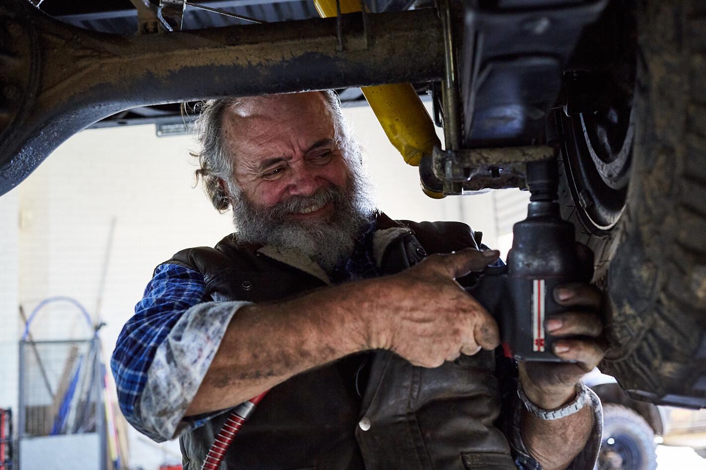 John Rooth car maintence