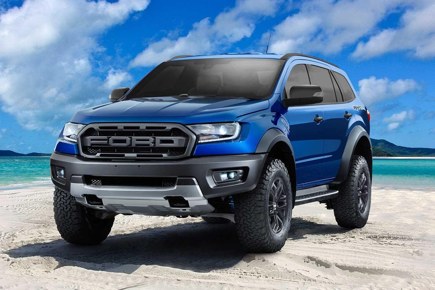 Ford Everest Raptor news