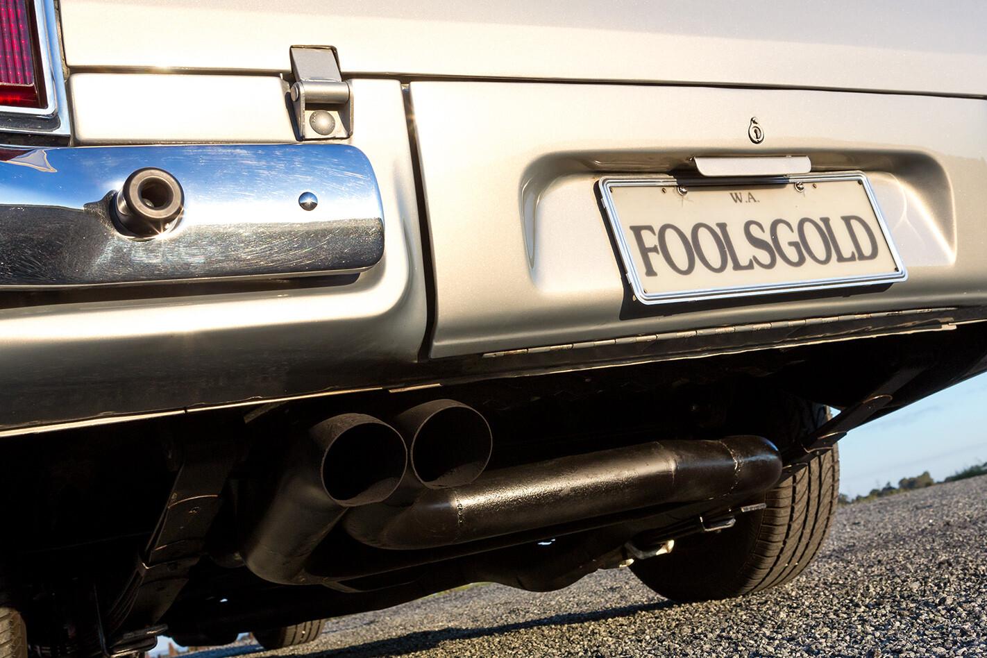 Shane-Willmott-FOOLSGOLD-1JZ-Holden-HT-Ute-Sleeper-rear-licence-plate