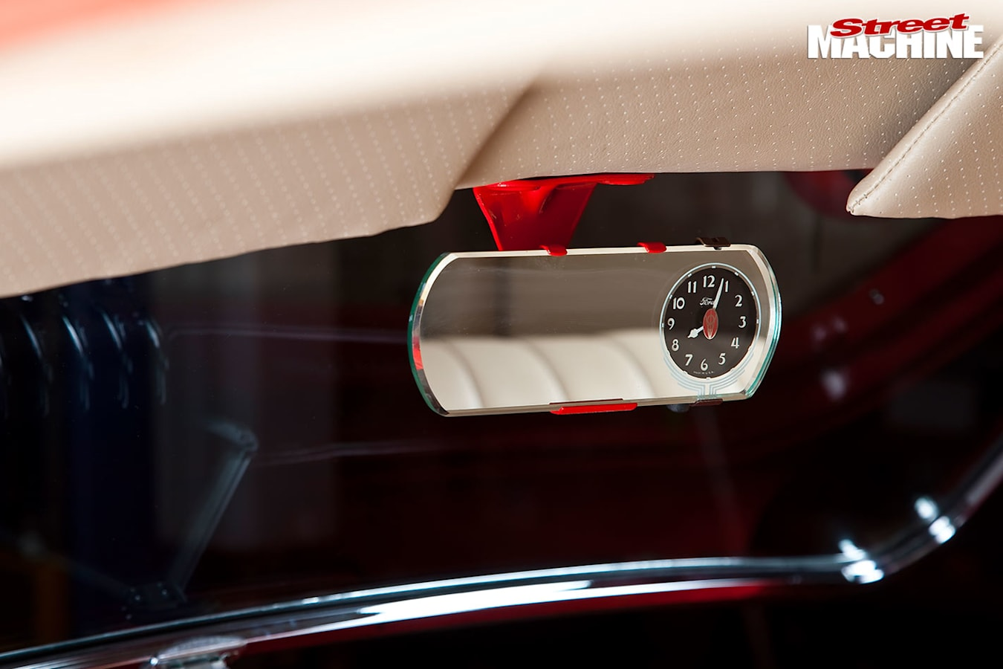 Ford Tudor mirror clock