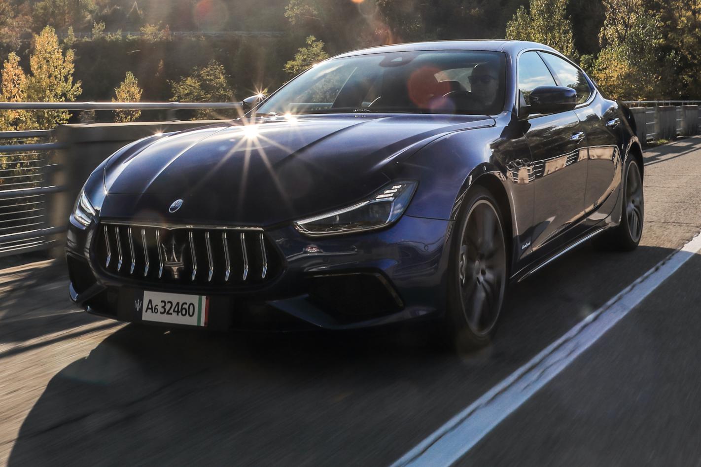 2021 Maserati Ghibli Hybrid Normal Png