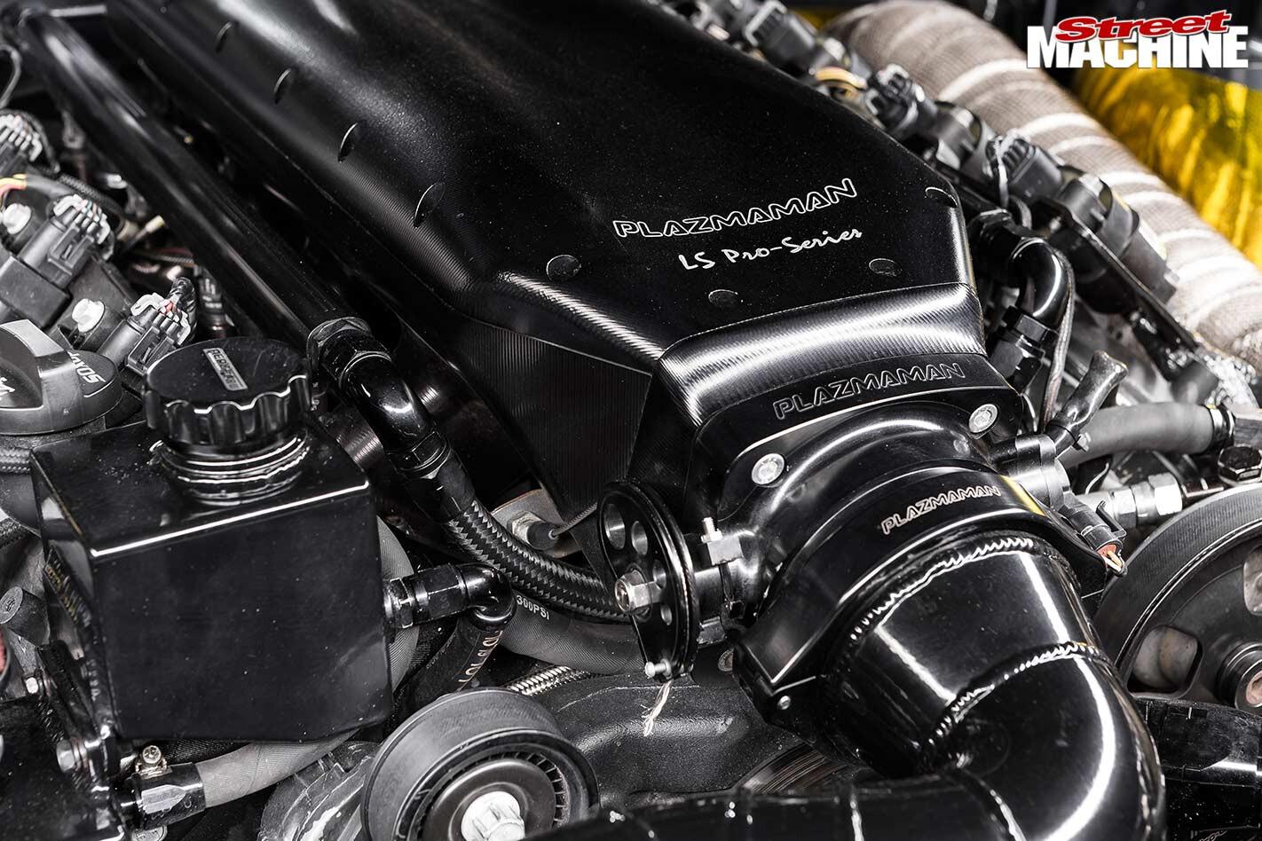 Nissan 200SX engine bay