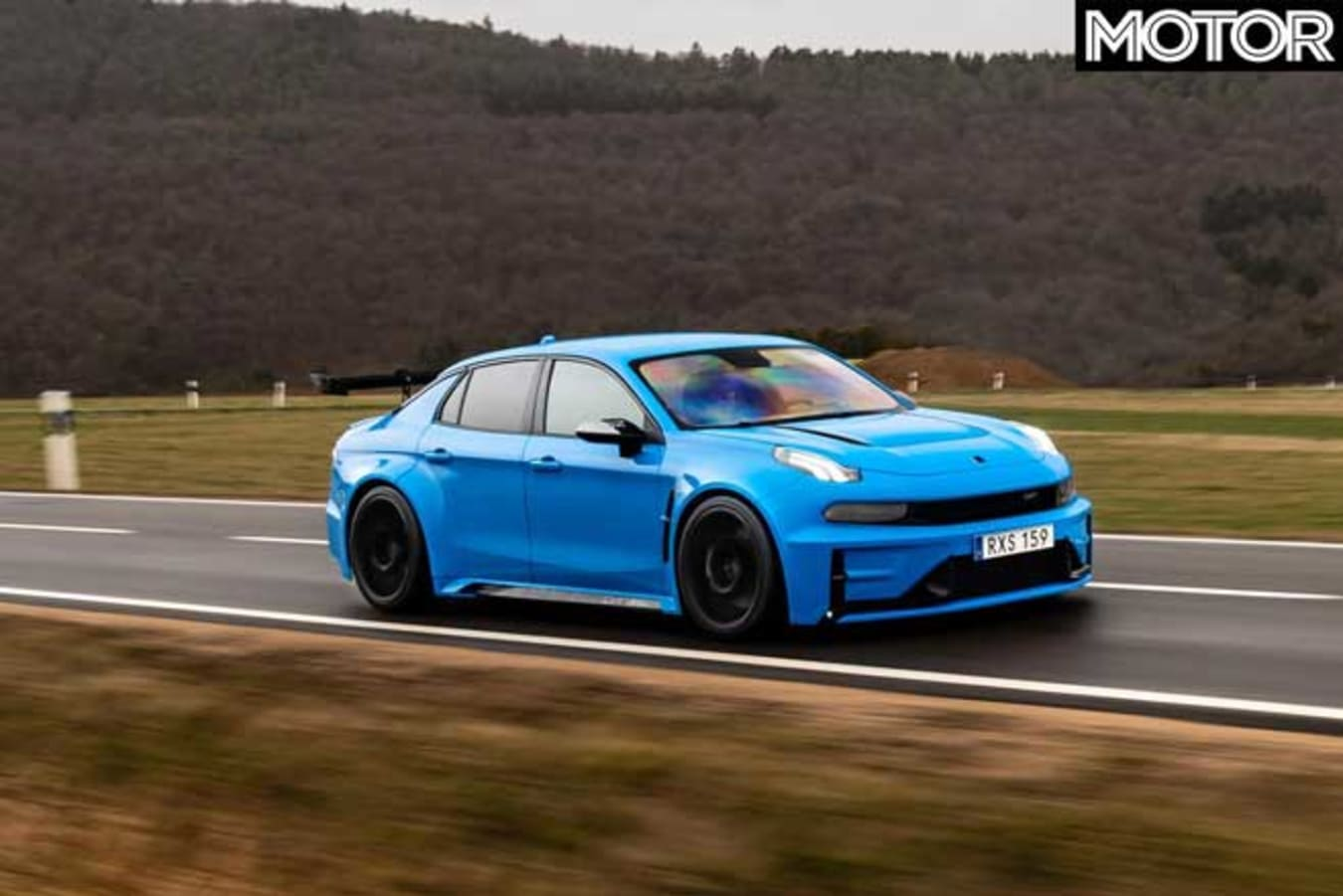 Lynk Co 03 Cyan Concept FWD Nurburgring Record Road Jpg