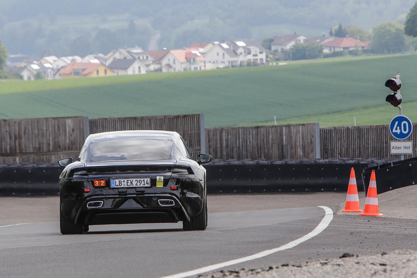 Porsche Mission E Rear Track Jpg