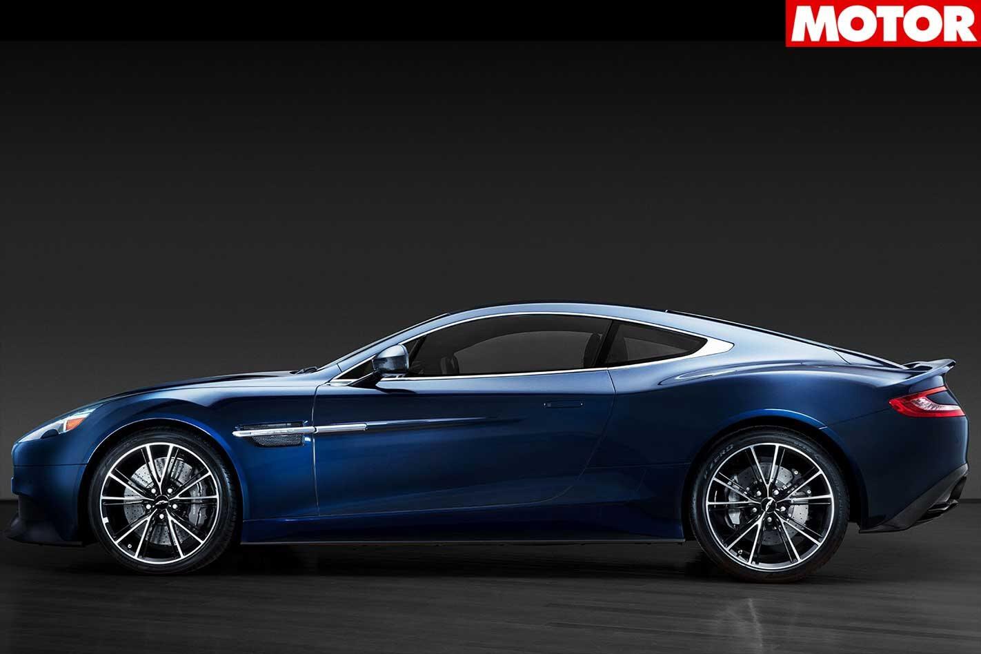 Daniel Craig Aston Martin Vanquish to be auctioned