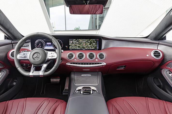 2018 Mercedes-Benz S Class Coupe interior