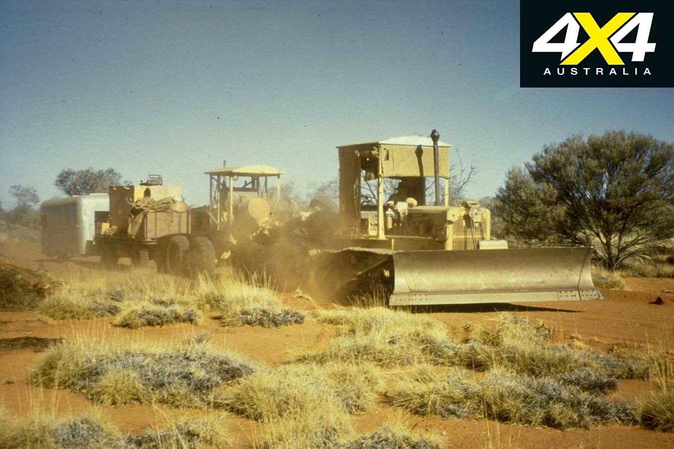4 X 4 Personality Len Beadell Outback Road Construction Jpg