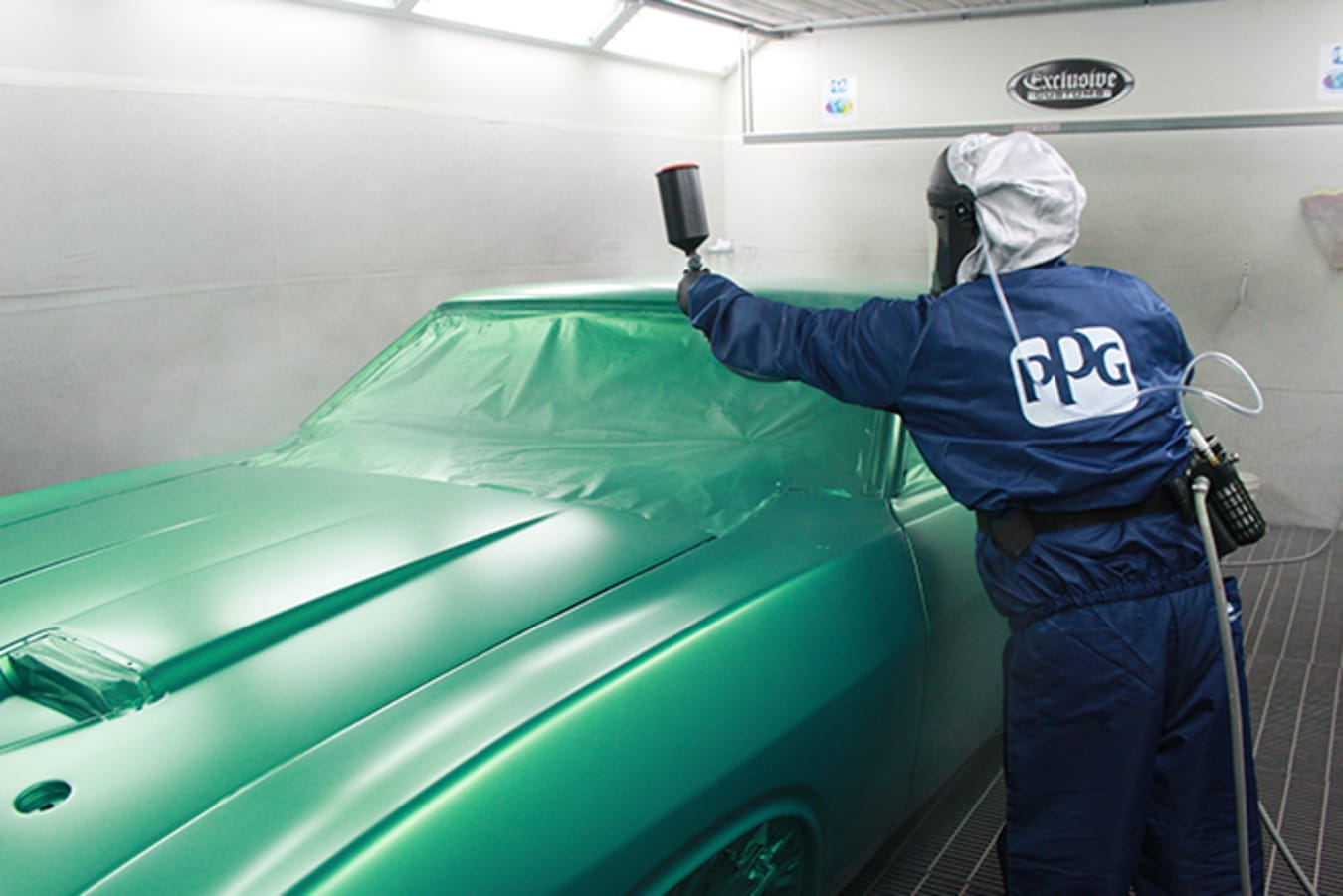 Ford Falcon XB GT paint