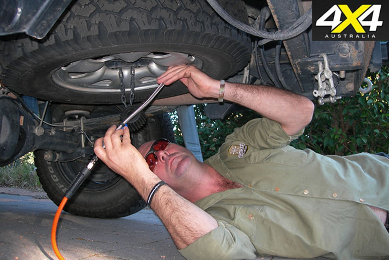 Always check a spare tyre's pressure before a trip.