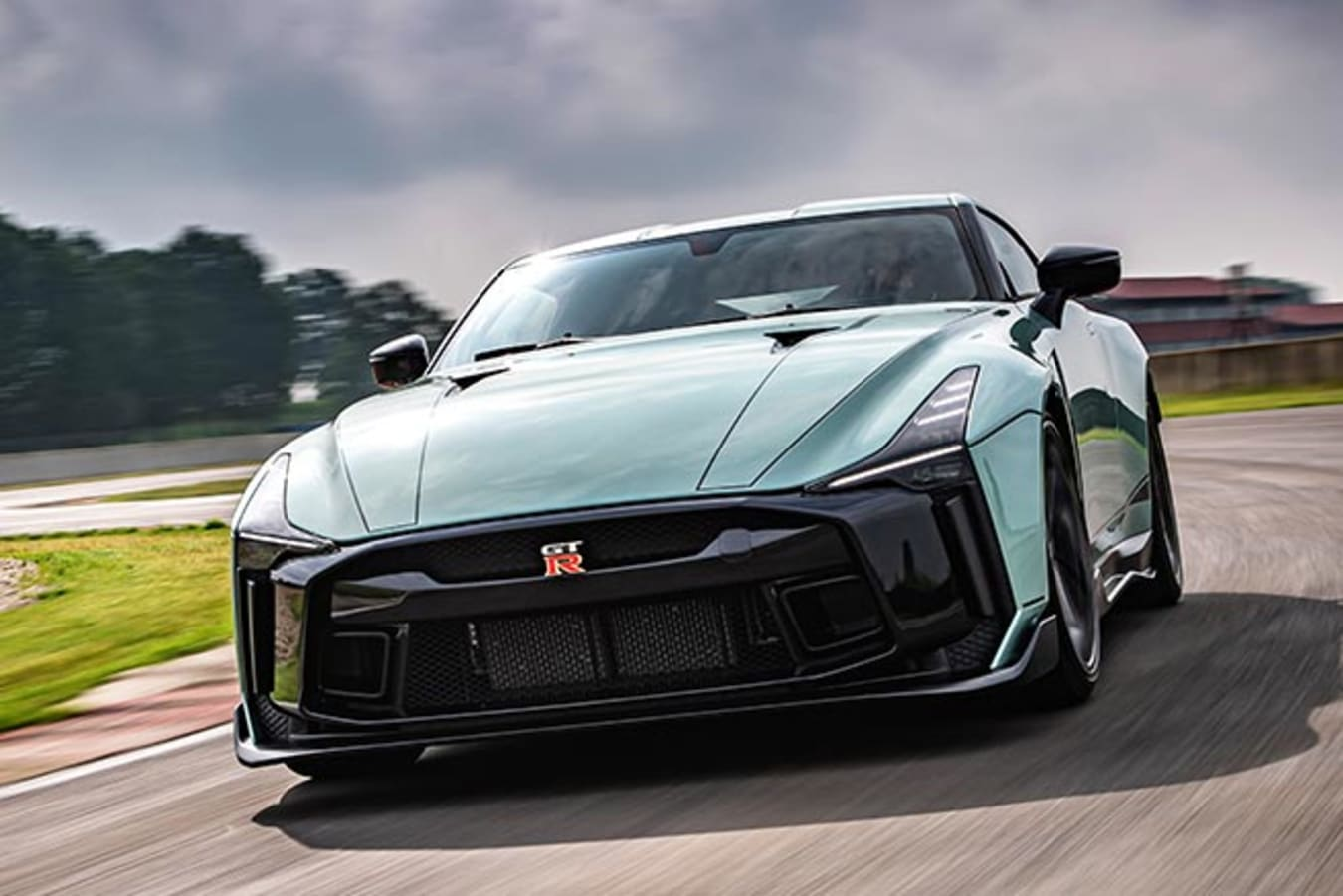 Nissan GT-R50 by Italdesign track