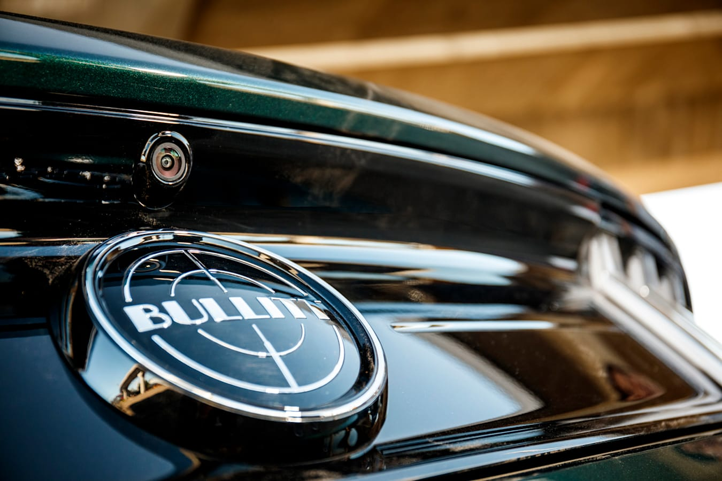 Bullitt Mustang badge