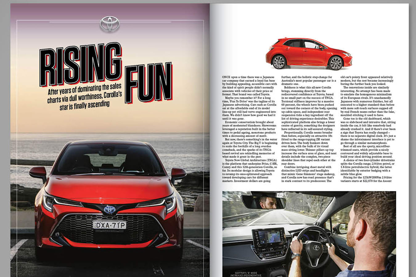 corolla Wheels magazine preview