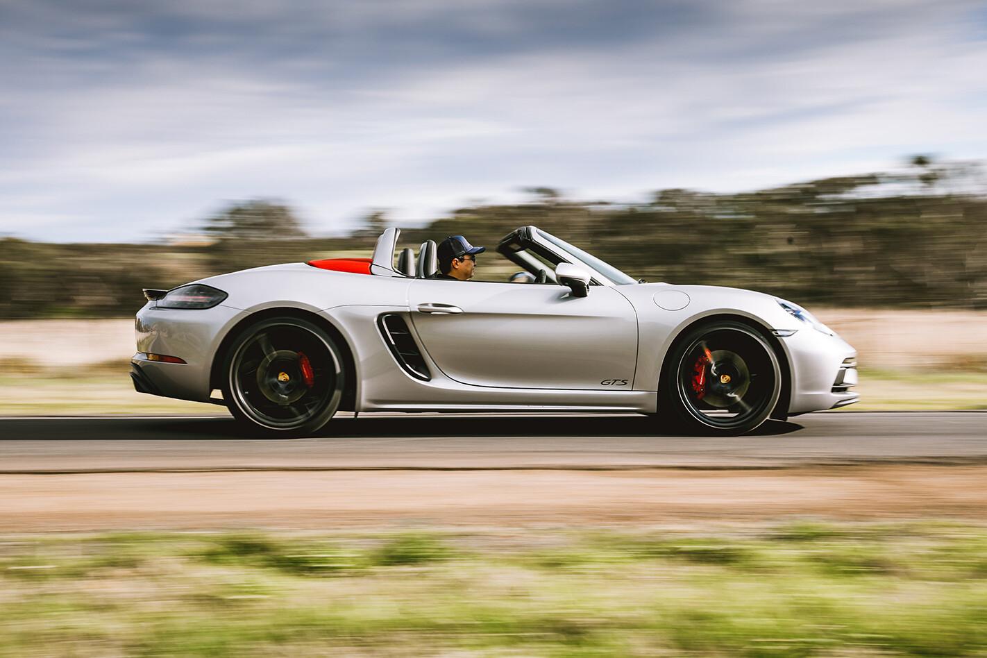 Porsche Boxster Gts Side Pan Jpg