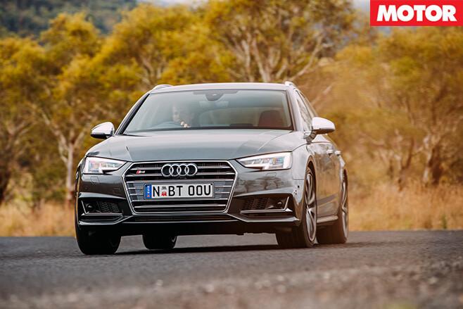 2017 Audi S4 front