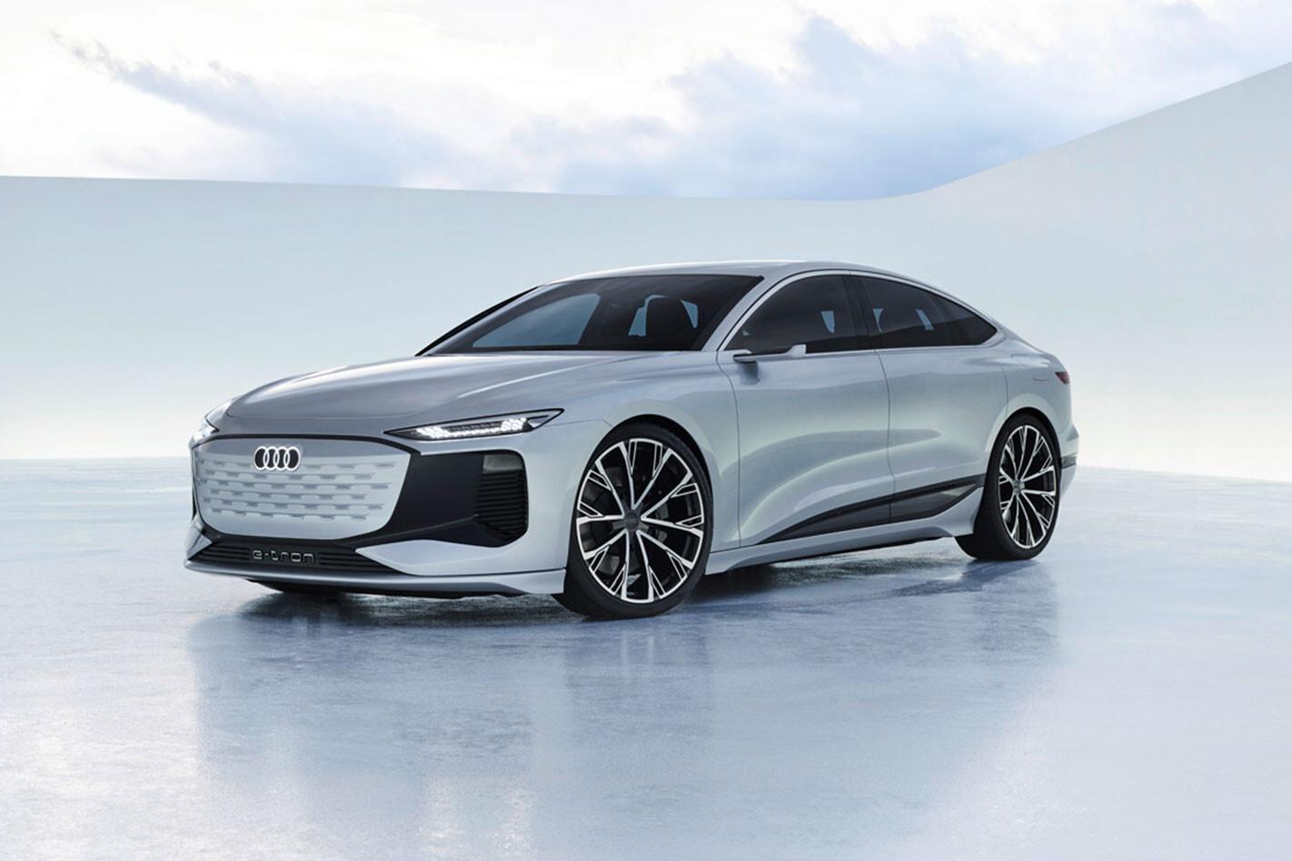 2021 Audi A6 E-Tron concept revealed