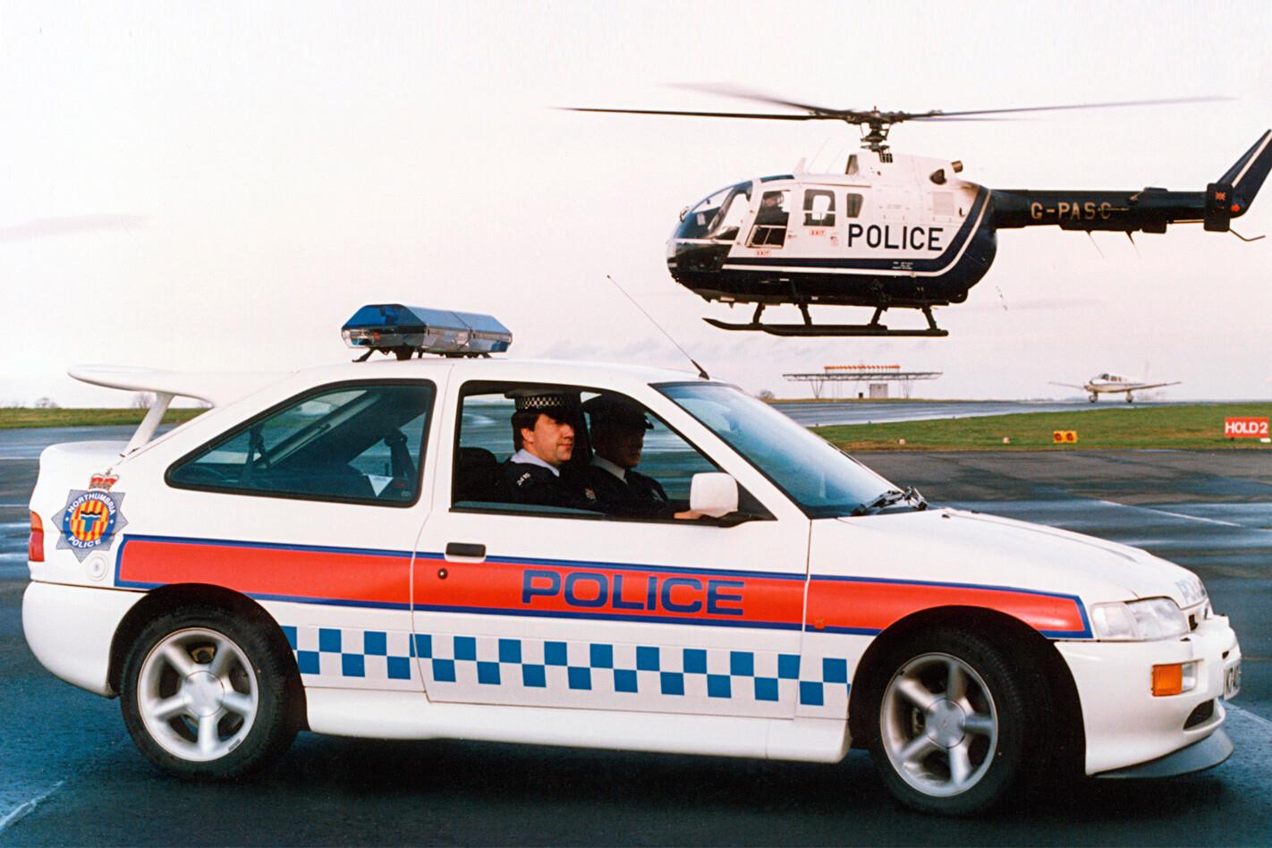 Ford Escort Cosworth police