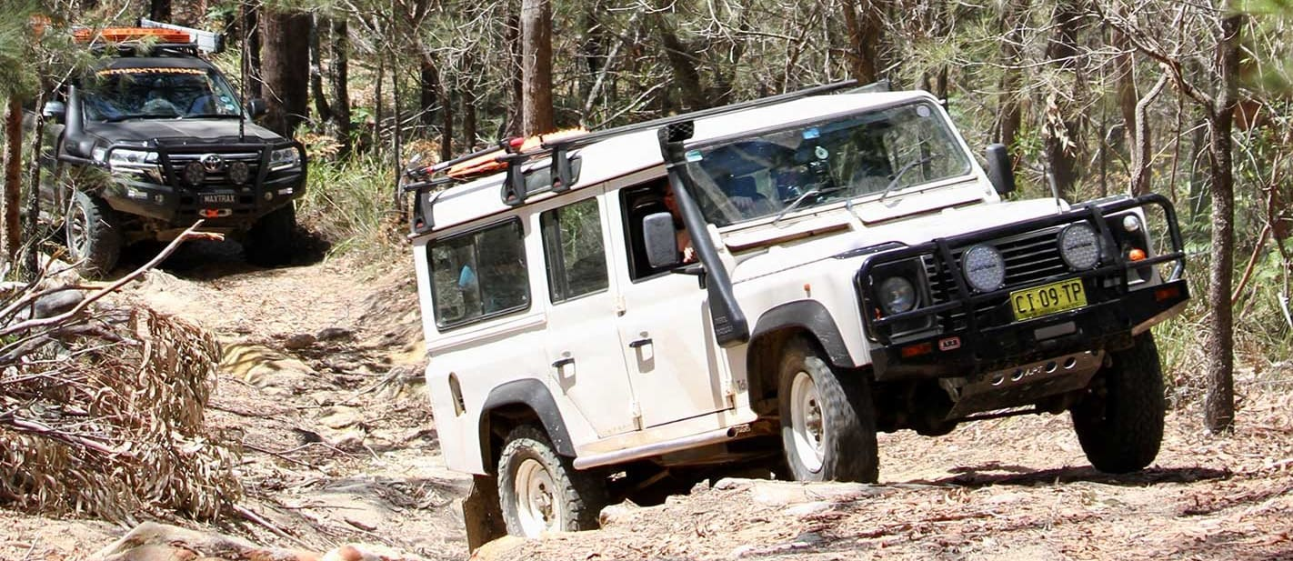 Old 4x4s are better at going off-road