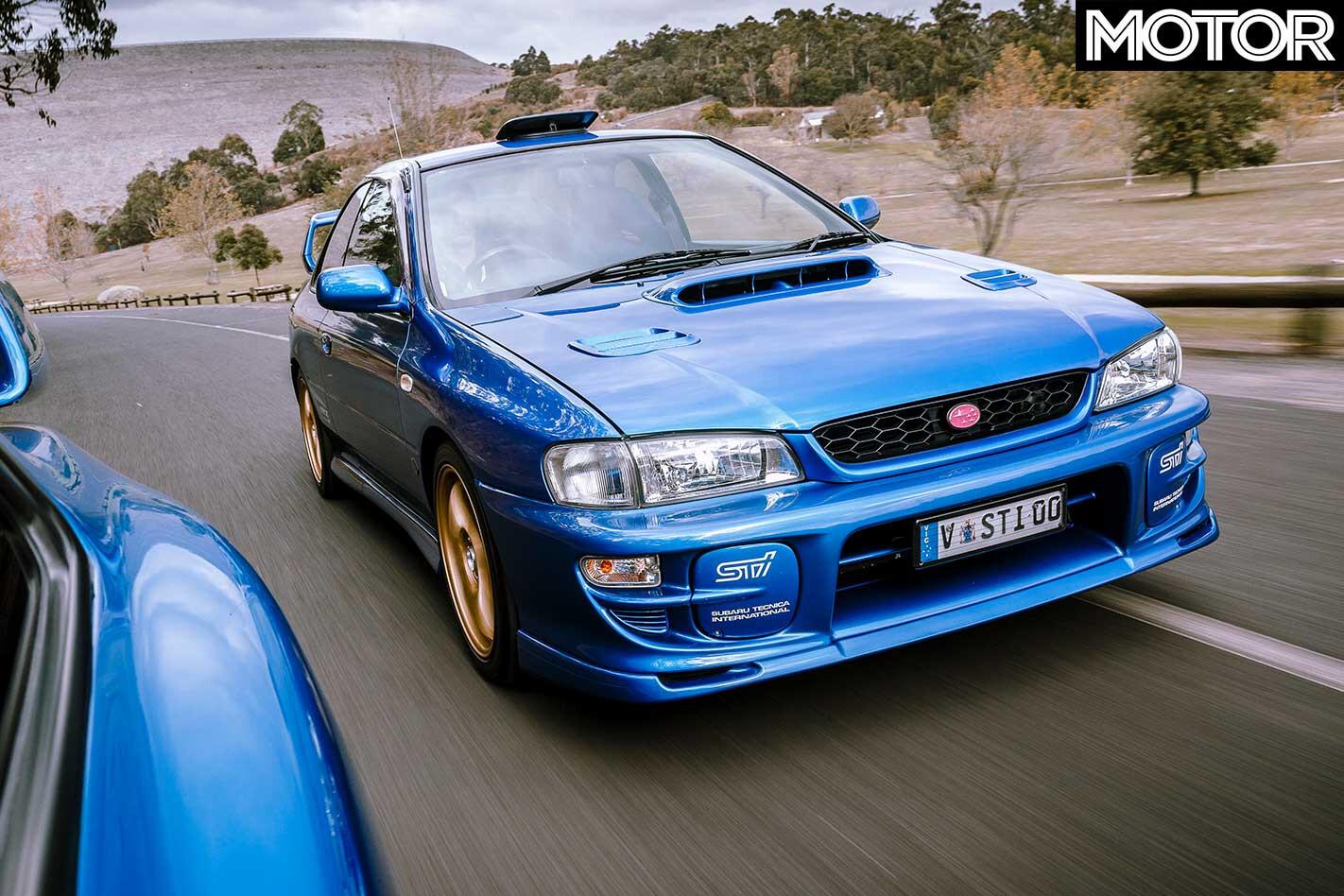 2000 Subaru Impreza WRX S Ti Type R Front Jpg