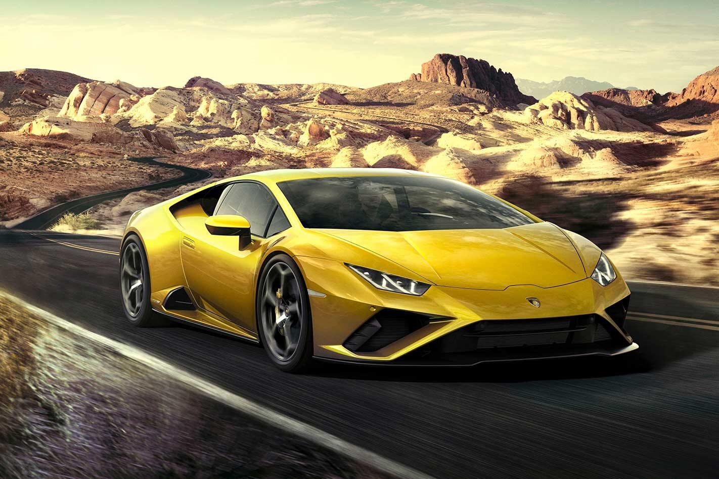 Lamborghini Huracan EVO RWD revealed