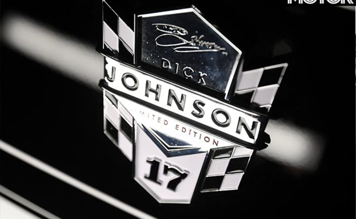 Mustang Dick Johnson Limited Edition badge