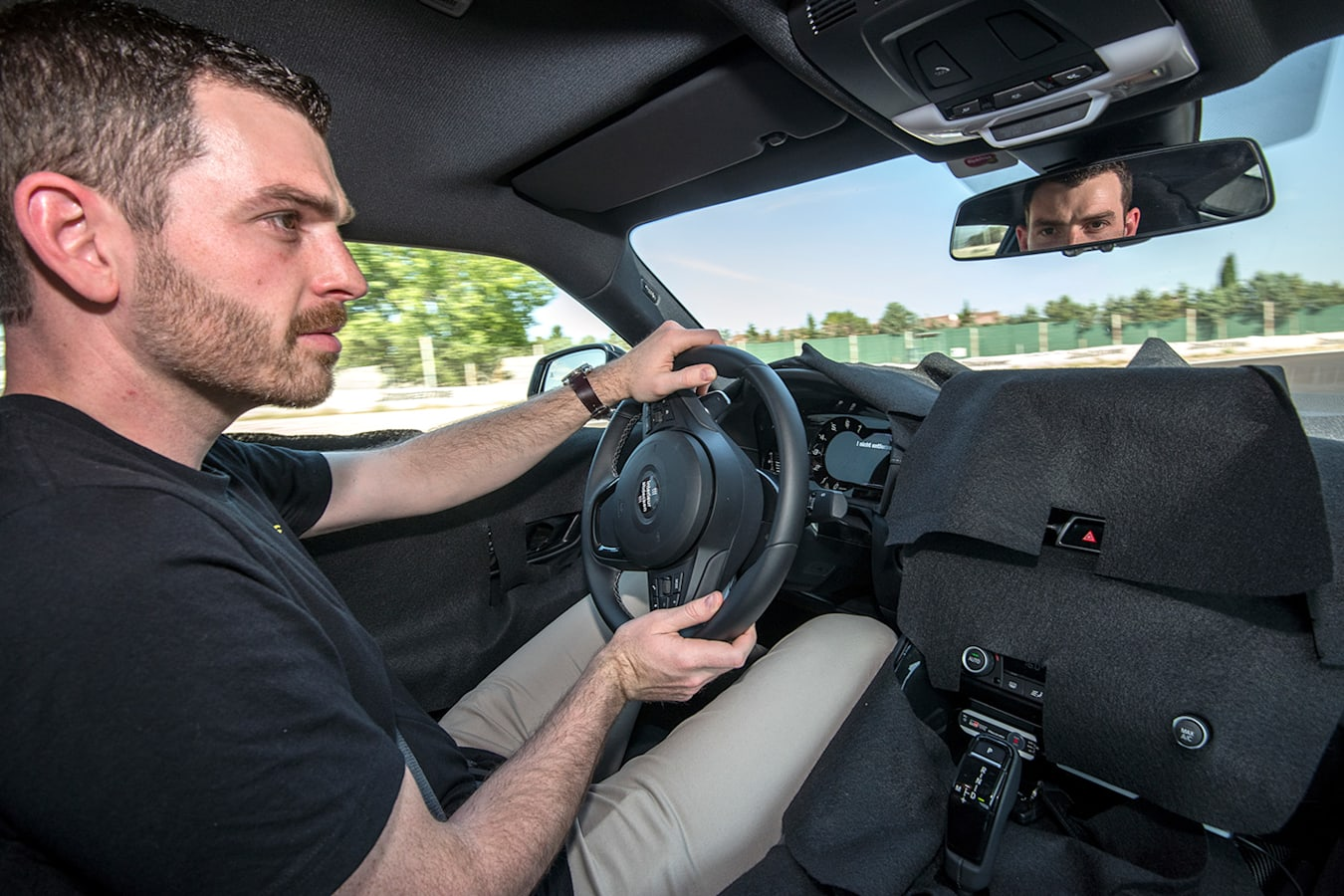 Toyota Supra Driving Jpg