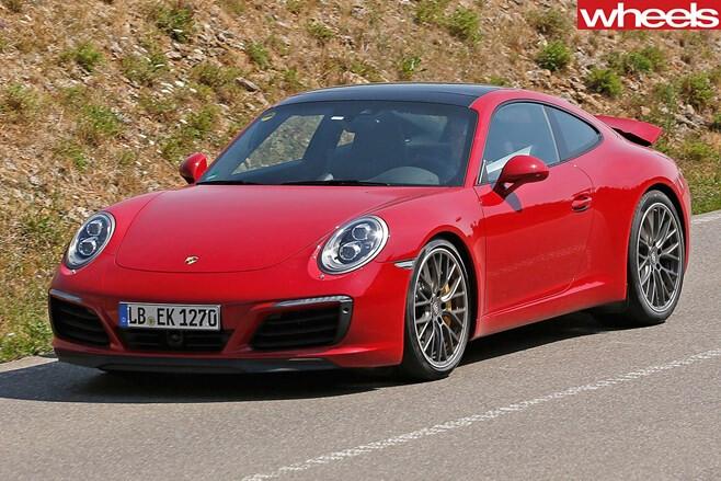 Red -Porsche -911-Turbo