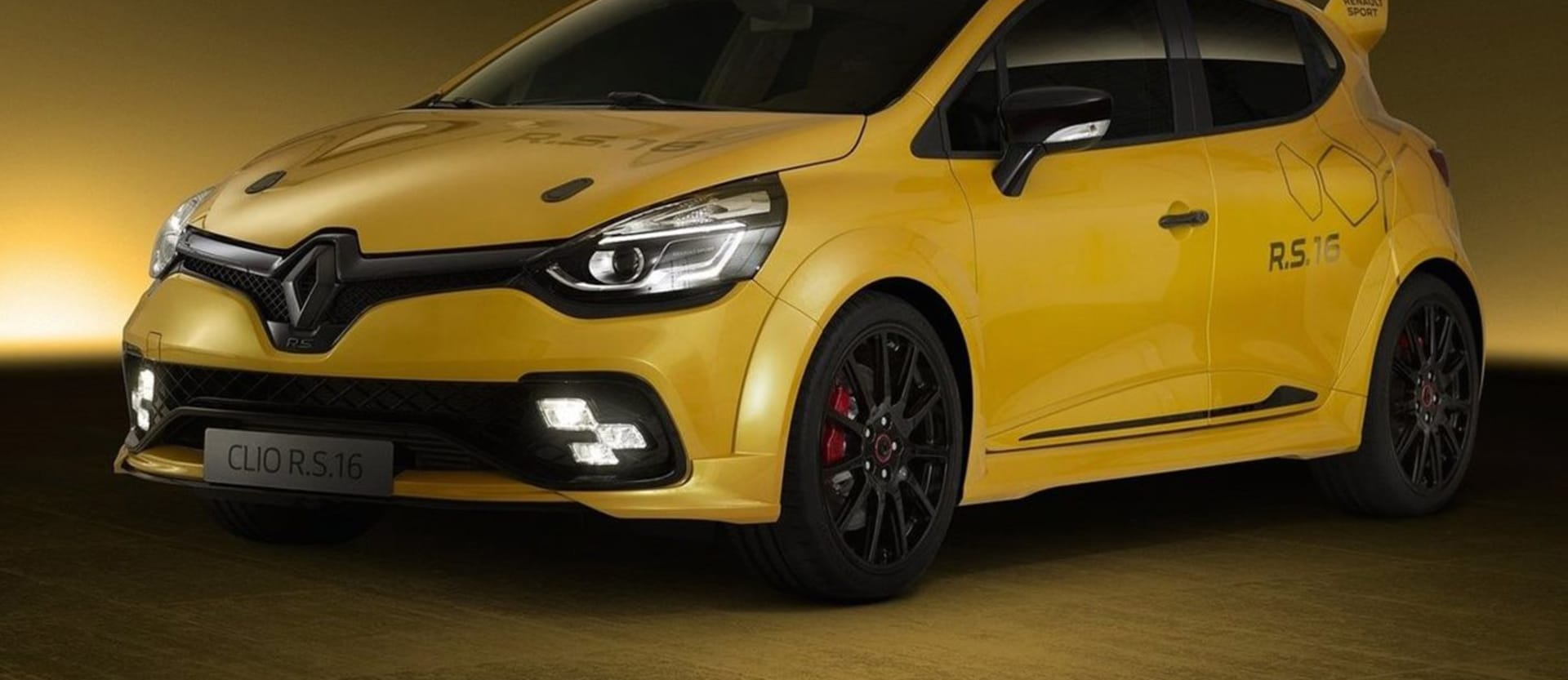 Renault Clio RS16 Concept revealed