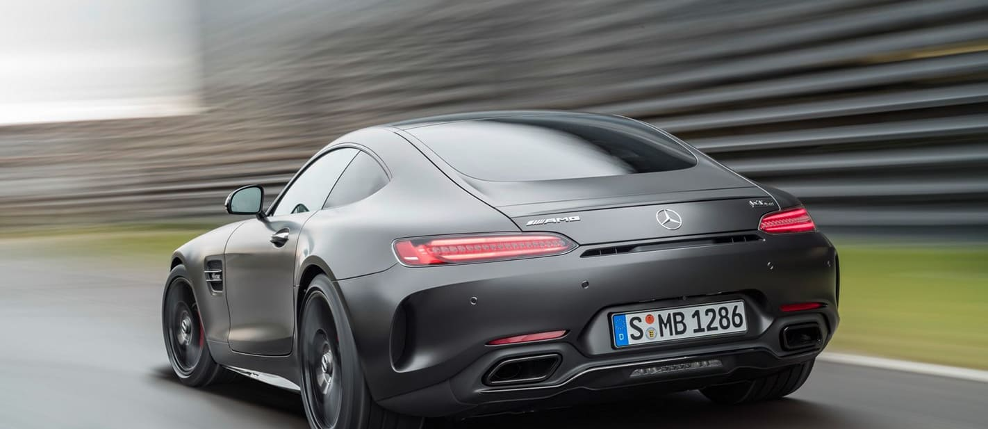2017 Mercedes-AMG GT C coupe revealed
