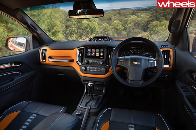 Chevrolet -Colorado -Xtreme -interior
