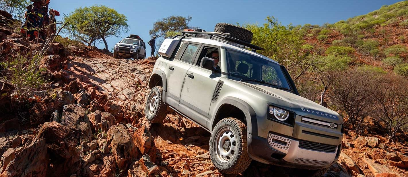2020 Land Rover Defender Namibia west coast drive gallery