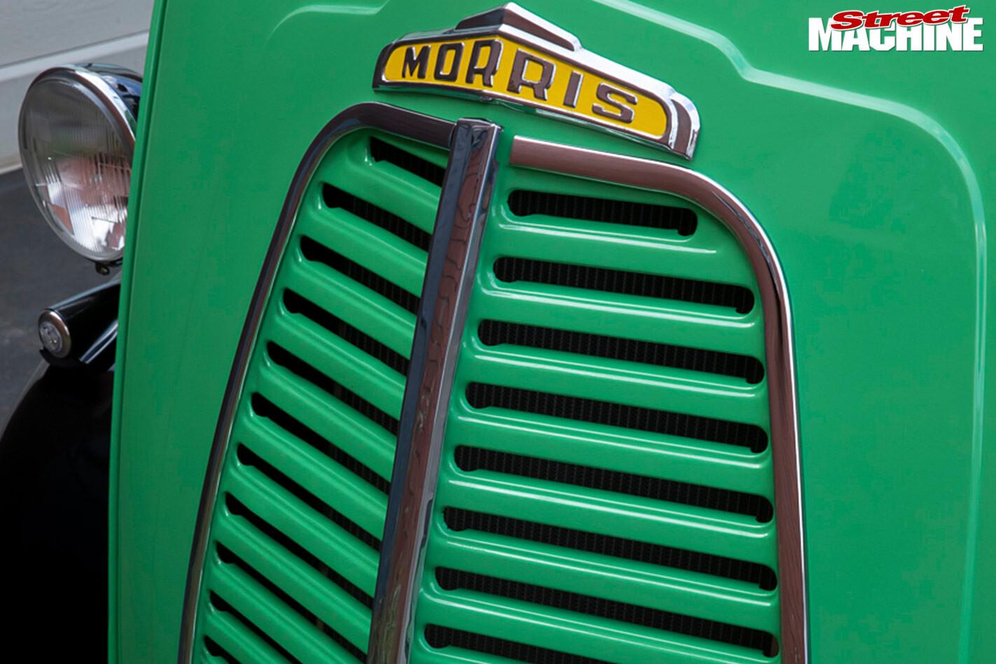 Morris J-Van grille
