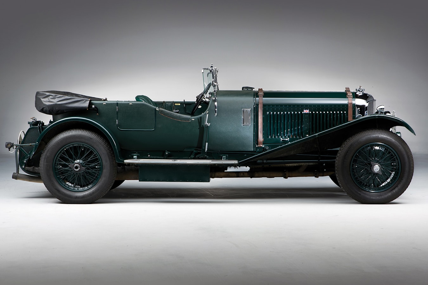 Retro Bentley Side Jpg