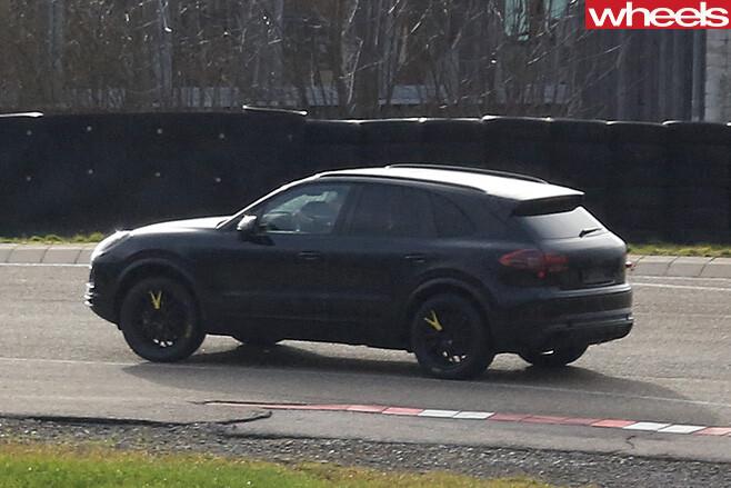Porsche -side -rear