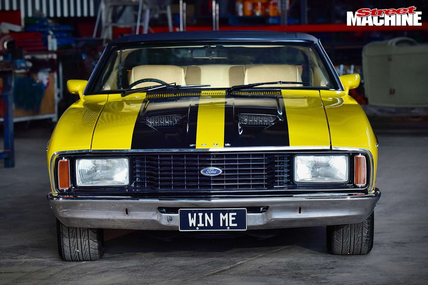 Ford XC Fairmont front