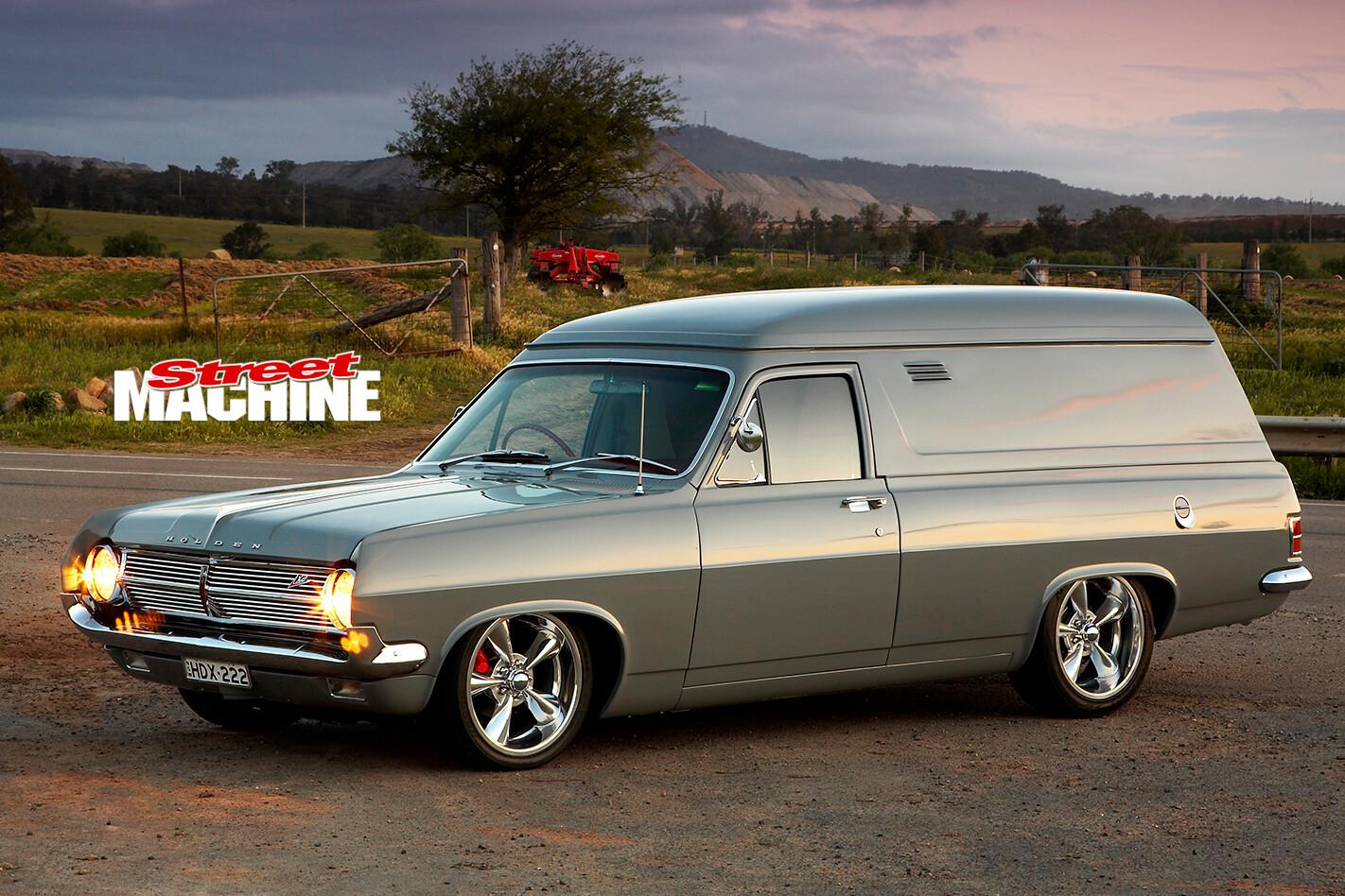 Holden -HD-van -front -side -dusk