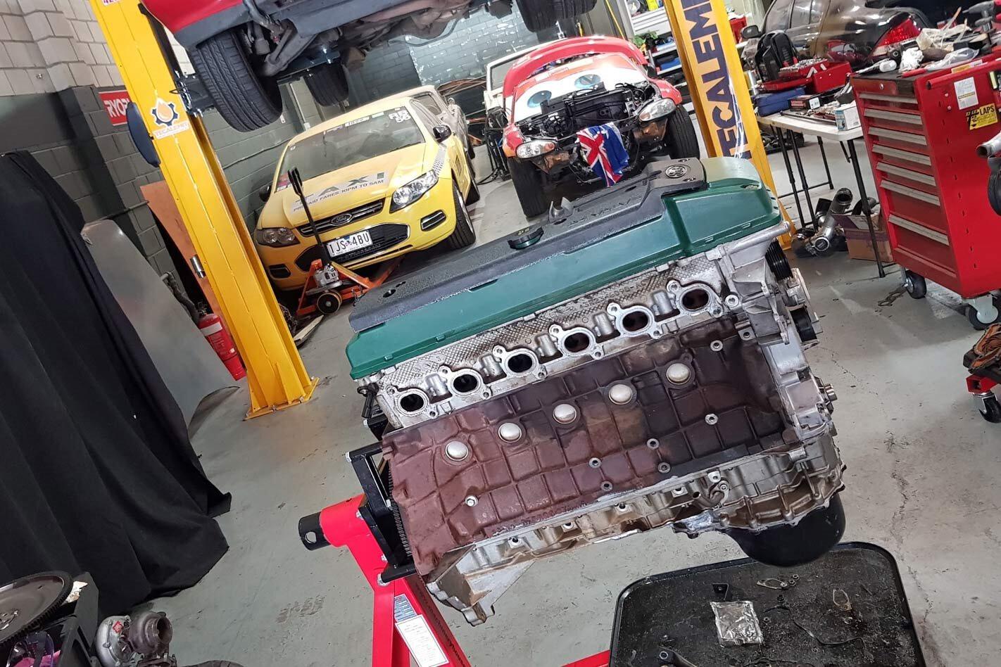 Carnage Barra engine