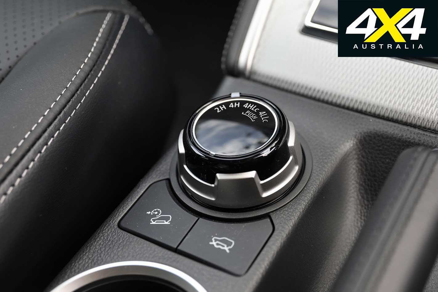 2019 Mitsubishi Triton Interior Super Select Dial Jpg