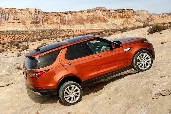 Land Rover Discovery side