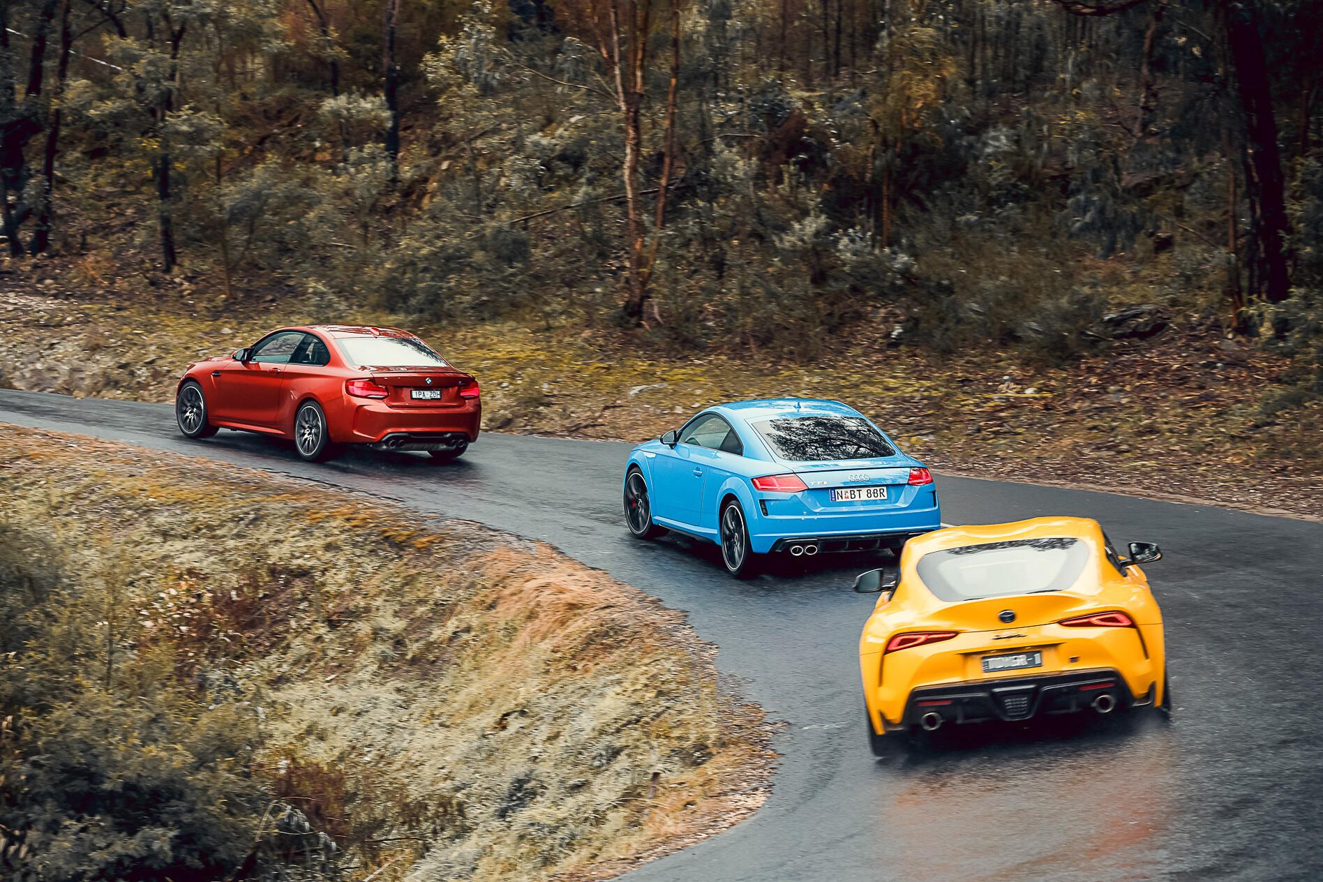 Toyota Supra vs BMW M2 vs Audi TT comparison review