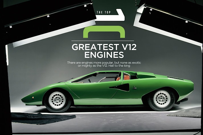 The top 10 greatest V12 engines