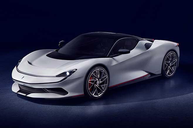 Pininfarina Battista is a 1400kW electric hypercar.