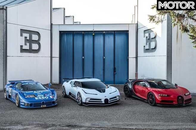 Bugatti Centodieci leak front